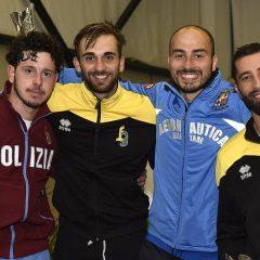 Prova open nazionale, Foconi sul podio