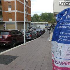 Strisce blu a Terni: tocca a via Bazzani