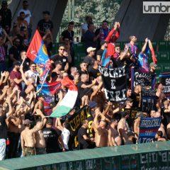 Terni, tifosi Catania e Paganese denunciati