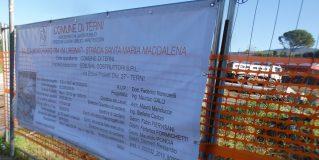 Terni, via Urbinati: cantiere senza pace