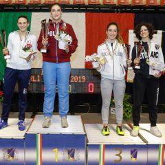 Tricolori under 23 scherma: podio Crovari