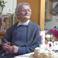 Video – Nonna Luisa, festa per i 108 anni