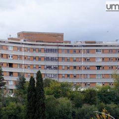 Covid, ospedale Terni: «Fa male sentirsi abbandonati»