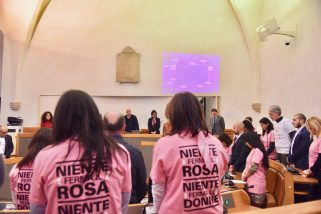 Perugia, 'Pink is good' in consiglio comunale