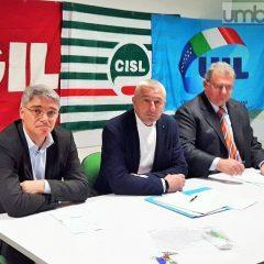 Umbria, i sindacati: «Un dicembre 'caldo'»