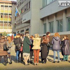 Tribunale evacuato per testare la sicurezza