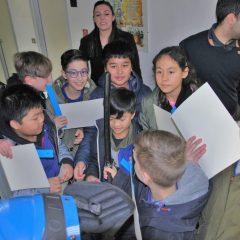 Terni, piccoli studenti in visita in questura