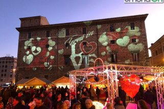 Terni, San Valentino: videomapping e show