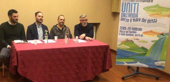 'Sardine' dell'Umbria: «Riempiremo Terni»