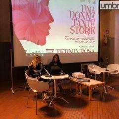 Terni, 8 marzo: 'Una donna tante storie'