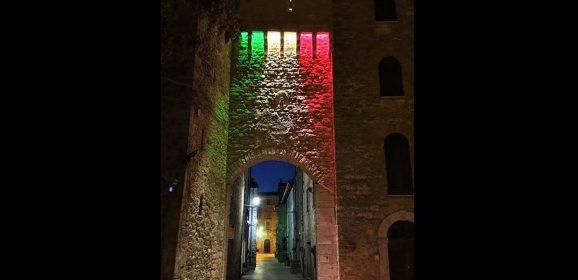 San Terenziano si illumina per sperare