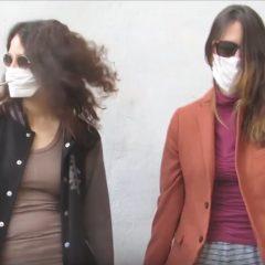 Covid, 'Masskerina': il rap della quarantena di Elena e Viola Bucci
