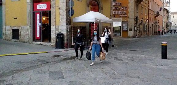 Mascherine e sorrisi: fotogallery da Perugia