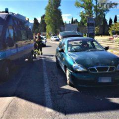 Terni, incidente viale Borzacchini: un ferito
