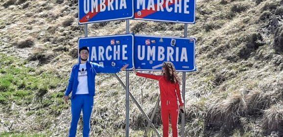 Due innamorati si rivedono al confine