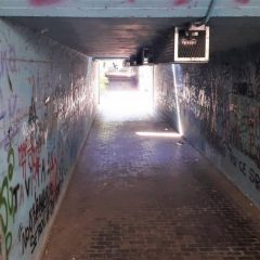 Terni, via Battisti: chiuso il sottopasso