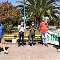 Treofan, la protesta a Battipaglia:«Non ci fermeremo»