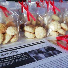 Biscotti fatti in casa per aiutare Carolina
