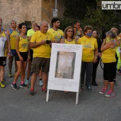 Terni, 'Run & Walk by night' per Sergio Secci