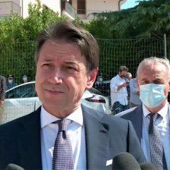 L'ex premier Giuseppe Conte in Umbria il 16 settembre