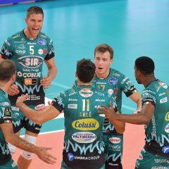 Volley, Bartoccini ko Sir sbanca Trento