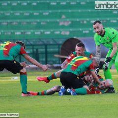 La Ternana dilaga: il 5-1 al Catanzaro nelle foto di Mirimao