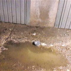 Terni, l'impianto di scarico non va e i garage si 'allagano'