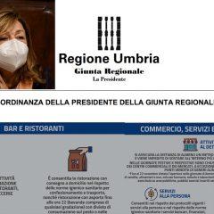 Nuova ordinanza: ecco cosa (non) si può fare in Umbria