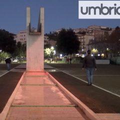 Perugia, a Fontivegge inaugurazione della nuova illuminazione