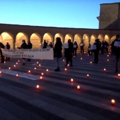 Assisi, commercianti 'al lumicino' davanti a San Francesco