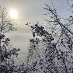 Monteleone di Spoleto innevata per Natale