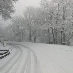 Santo Stefano con la neve a Bocca Serriola