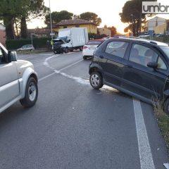 Perugia, incidente lungo la Pievaiola a Castel del Piano