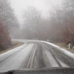 Maltempo, attivati interventi per neve nell'orvietano