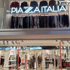 Terni, il 14 febbraio chiude Piazza Italia: 9 lavoratori a rischio
