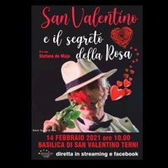 Terni, San Valentino raccontato in un'opera di Stefano de Majo