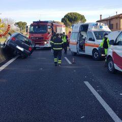 Perugia, incidente lungo la E45: traffico paralizzato