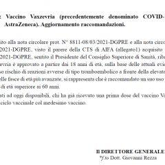 Covid, vaccino Astrazeneca: le nuove raccomandazioni