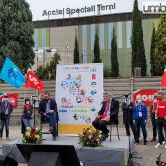 Ribalta nazionale per Terni e l'Ast con il primo maggio
