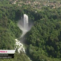 Giro d'Italia: la bellezza dell'Umbria nelle immagini Rai
