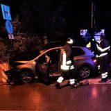 Terni, auto contro il ponte a Marmore: coinvolti tre giovani