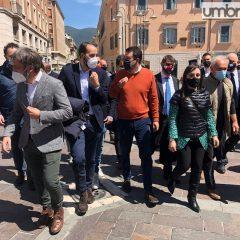 Salvini: «Spero di vedere Ternana-Milan in un nuovo stadio»