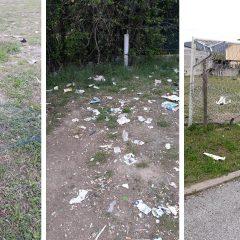 Dopo i danneggiamenti al campo sportivo di San Giacomo, area pulita dai residenti