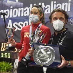 Tricolori assoluti scherma, bronzo per la ternana Lucia Lucarini