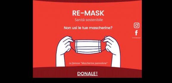 Terni, Giacomo e l'idea anti-spreco sulle mascherine: successo