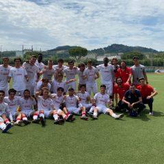 Arezzo-Perugia 4-1, Primavera eliminata