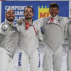 Tricolori scherma, bronzo Alessio Foconi