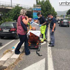 Scontro auto-scooter in viale Borzacchini: 52enne ferito