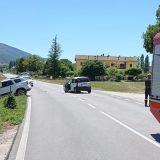 Gualdo Tadino, scontro tra auto: una persona in ospedale