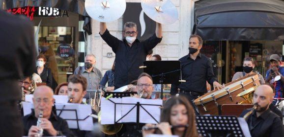 Briccialdi, concerto di 'rinascita' in piazza a Terni – Foto Mirimao